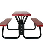 Steel canteen bench