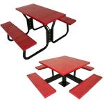 canteen benches